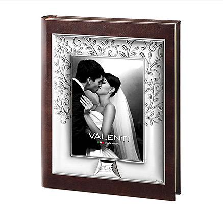 Silber Fotoalben zur Hochzeitstag