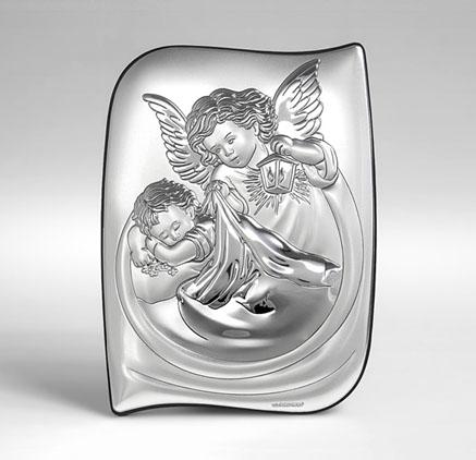 Silber Bild zur Taufe