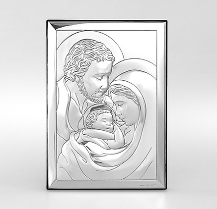 Heilige Familie Silber bild Beltrami