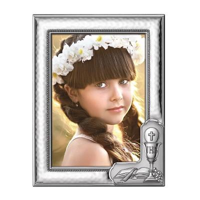 Silber Bilderrahmen für ein Kind Persönliche Kommunionsgeschenke