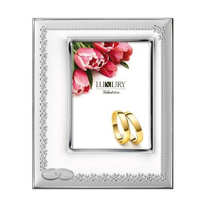Silber Bilderrahmen für Foto Hochzeit, Hochzeitsjubiläum Geschenk