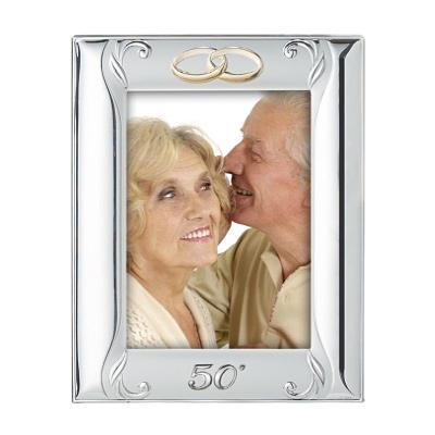 Versilberte Rahmen für Foto Hochzeitsjubiläum Geschenk