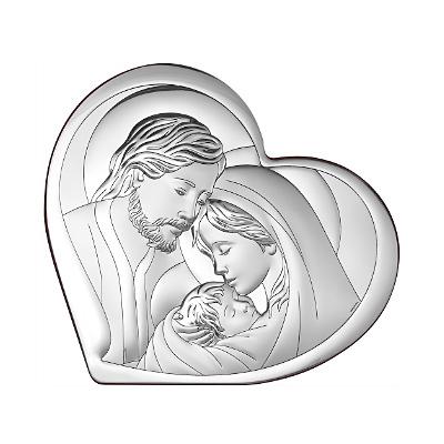 Silber Bild Heilige Familie Geschenkidee zur Hochzeit