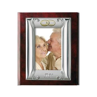 Album für Hochzeitsfotos mit Hochzeitsringe