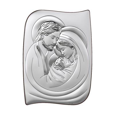 Silber Bild Heilige Familie Geschenk zur Hochzeit