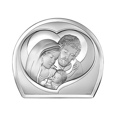 Heilige Familie Silber Bild