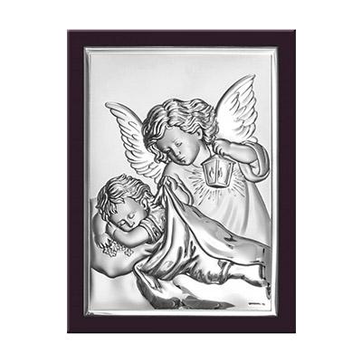 Engel über Kind zur Taufe und Erstkommunion