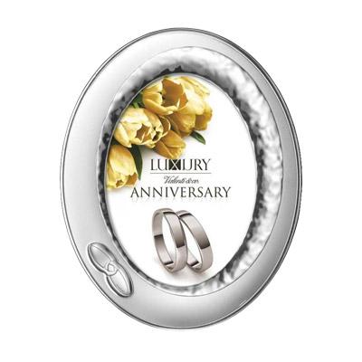 Silber Bilderrahmen Valenti Hochzeit, Hochzeitsjubiläum Geschenk