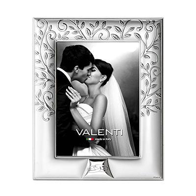 Silber Fotorahmen Valenti Hochzeit, Hochzeitsjubiläum Geschenk