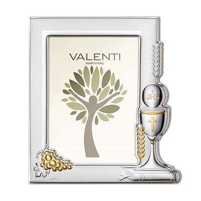 Silber Bilderrahmen zur Kommunion Geschenk zur Erstkommunion