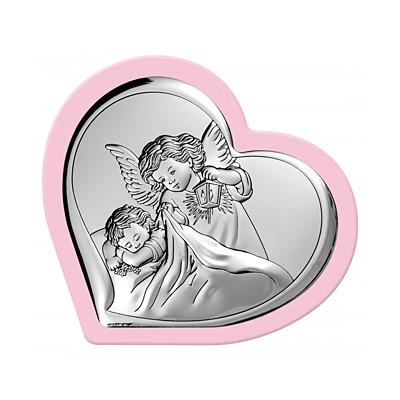 Engelchen über Kind Taufgeschenk für Mädchen