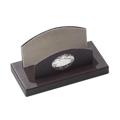 Ständer für Briefe mit Silberemblem