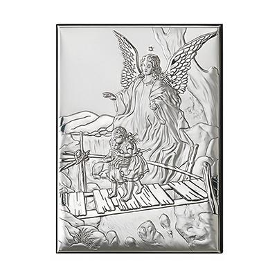 Schutzengel Silber Bild zur Taufe