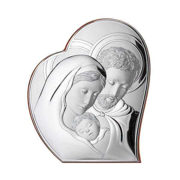 Silber Bild Heilige Familie Hochzeitsgeschenk