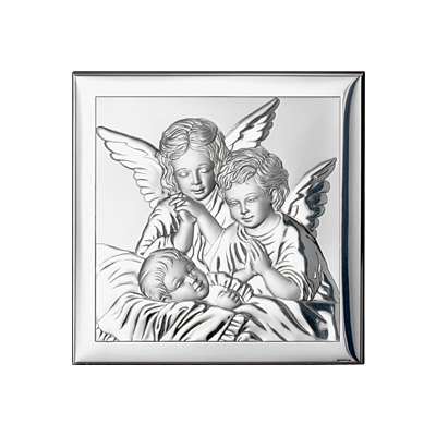 Bild Engel über Kind Taufgeschenk für Kinder
